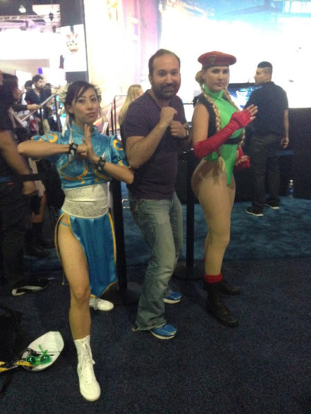capcom-e3-booth-me-with-the-ladies