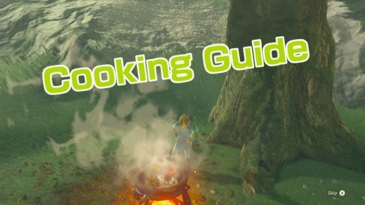 breath of the wild cooking guide gamegravy. Black Bedroom Furniture Sets. Home Design Ideas